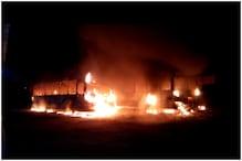 भोपाल में एक रात में आगजनी की 3 घटनाओं से सनसनी