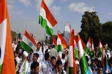 युवा आक्रोश रैली: कांग्रेसमय हुआ अल्बर्ट हॉल, राहुल गांधी को सुनने के लिए उमड़े युवा, देखें PHOTOS