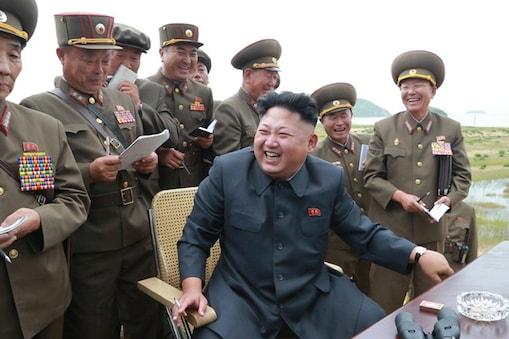 उत्तर कोरियाई तानाशाह किम जोंग उन