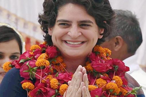 प्रियंका गांधी वाड्रा को एमपी से राज्यसभा भेजने की तैयारी