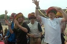 अंतरराष्ट्रीय ऊंट उत्सव में विदेशी पर्यटकों ने भी बढ़ चढ़कर लिया हिस्सा