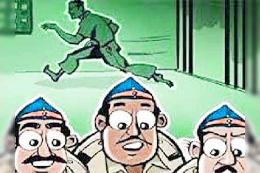 यमुनानगर में हवालात का ताला खोलकर फरार हुए दो चोर, ASI समेत तीन पुलिसकर्मी सस्पेंड (सांकेतिक तस्वीर)