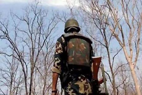 जंगल में 15 KM पैदल चलकर जवानों ने किया ऑपरेशन, नक्सली शव के साथ बंदूक बरामद