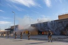 इराक : बगदाद में अमेरिकी दूतावास के पास एक बार फिर दागे गए 5 रॉकेट, बढ़ा तनाव