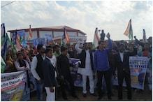 महोबा: CAA-NRC के विरोध में लोगों का प्रदर्शन, भीम आर्मी ने लगाया ये आरोप