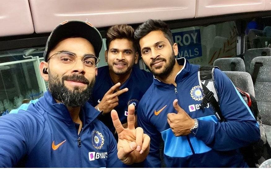 indian squad for new zealand, india new zealand series, prithvi shaw team india, sanju samson indian team, india odi team, india t20i series