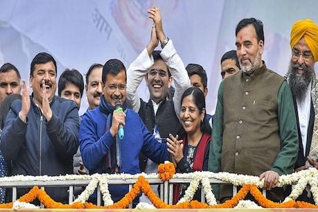 'दिल्ली विकास मॉडल' के दम पर प्रचंड जीत के बाद अब उत्तर प्रदेश पर टिकी AAP की नजर