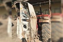 गजब! बीकानेर में बदमाश ने पहले चुराया ट्रैक्टर फिर उसी से उखाड़ ले गया ATM