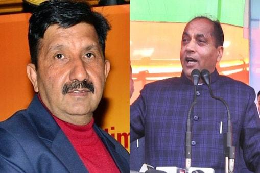 कांग्रेस नेता मुकेश अग्निहोत्री और सीएम जयराम ठाकुर.