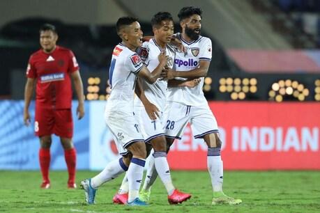 ISL 2019-20: लीग राउंड के आखिरी मैच में चेन्नई का मुकाबला ड्रॉ, प्लेऑफ में सामने होगी गोवा एफसी