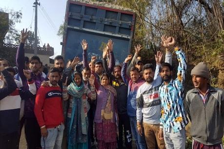 ऊना में अवैध खनन पर कांग्रेस का 'हल्ला बोल' कहा-कार्रवाई न हुई तो उग्र आंदोलन