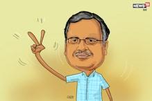 शकूरबस्ती विधानसभा सीट से आगे चल रहे हैं AAP के सत्येंद्र जैन!