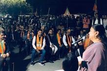 दिल्ली विधानसभा चुनाव: राजे ने थामी प्रचार की कमान, केजरीवाल सरकार को घेरा