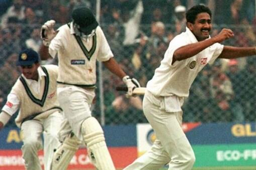 अनिल कुंबले ने पाकिस्तान के खिलाफ लिए थे 10 विकेट