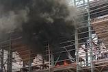 जगदलपुर के निर्माणाधीन स्टील प्लांट में लगी आग, मशीन टेस्टिंग के दौरान हादसा