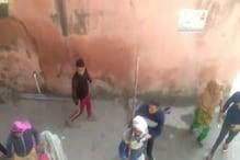 गुरुग्राम में दो गुटों में जमकर चले लाठी-डंडे, सामने आया Video