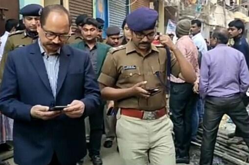एडीजी के साथ एफएसएल की टीम और पटना पुलिस प्रशासन के कई आलाधिकारी मौके पर पहुंचे और मामले की फिर जांच शुरू की.