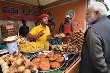 जब PM मोदी ने दुकानदार से पूछा- कैसे बनाया जाता है 'लिट्टी चोखा'
