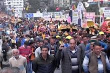 अंतरराष्ट्रीय शिवरात्रि महोत्सव: मंडी में धूमधाम से निकली दूसरी शोभायात्रा