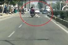 खाकी भी नहीं रही सुरक्षित: बाइक सवारों ने होमगार्ड जवान को 500 मीटर तक घसीटा