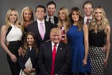 ये है डोनल्ड ट्रंप भरा-पूरा परिवार- बीवी, बेटे-बेटियां और कई नाती-पोते