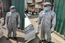 PHOTOS: ऊना में पुलिस कर्मियों को दी गई PPE किट्स, यहीं से होती है हिमाचल में एंट्री