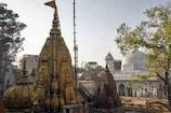 COVID-19: विश्वनाथ मंदिर में मास्क पहनना हुआ अनिवार्य, भक्त हो रहे सेनिटाइज
