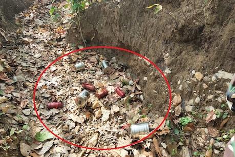 गया में नक्सलियों की बड़ी साजिश नाकाम, सुरक्षाबलों ने डिफ्यूज किया बम और विस्फोटक