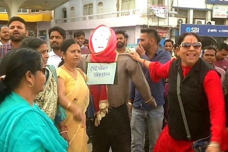 बीकानेर में राहुल और सोनिया गांधी की कोरोना जांच वाले हनुमान बेनीवाल के बयान पर बवाल