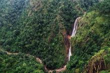 खूबसूरत है जशपुर का मकरभंजा वाटरफॉल, 400 फीट की ऊंचाई से गिर रहा है पानी