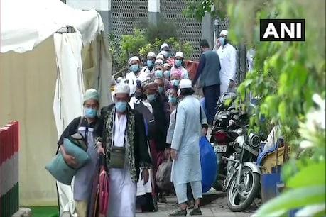 निजामुद्दीन मरकज से हटाए गए एक हजार से ज्यादा लोग, 700 भेजे गए क्वारंटाइन सेंटर
