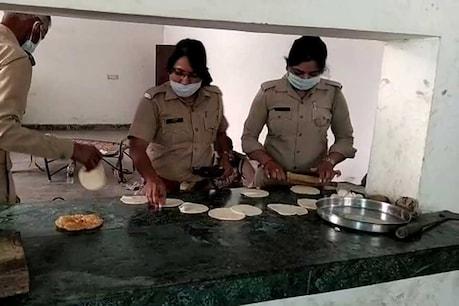 सराहनीय! Lockdown के दौरान रोजाना 250 लोगों की भूख मिटा रहीं हैं नौचंदी थाने की महिला पुलिसकर्मी