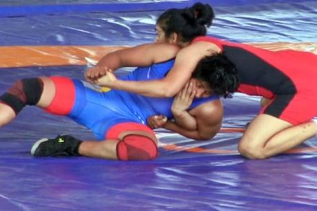 राष्ट्रीय कुश्ती प्रतियोगिता:देश के लिए ओलंपिक में मेडल लाना चाहती हैं ये महिला पहलवान