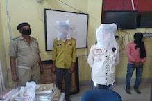 बक्सर: देसी कट्टा, जिंदा कारतूस, मोबाइल और बाइक के साथ छह अपराधी गिरफ्तार