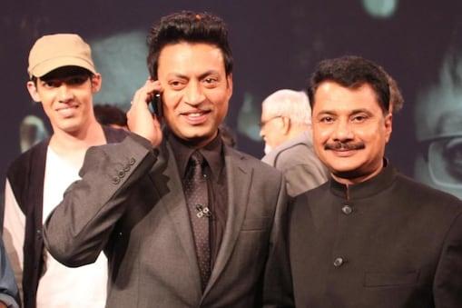 इरफान खान और आईपीएस हैदर अली जैदी.