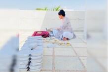 Lockdown: SDM की पत्नी रोज अलसुबह उठकर बनाती हैं 100 मजदूरों के लिए खाना