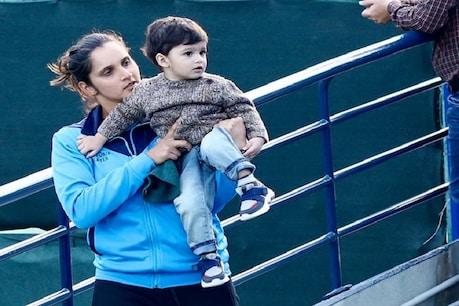बेटे इजहान के साथ सानिया मिर्जा का यह वीडियो काफी वायरल हो रहा है (फाइल फोटो)
