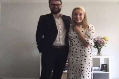 लॉकडाउन में इस कपल ने अनोखे तरीके से रचाई शादी, ऑनलाइन शामिल हुए मेहमान