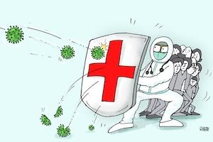 कार्टून कोना: कोरोना वारियर्स को दुनिया का सलाम