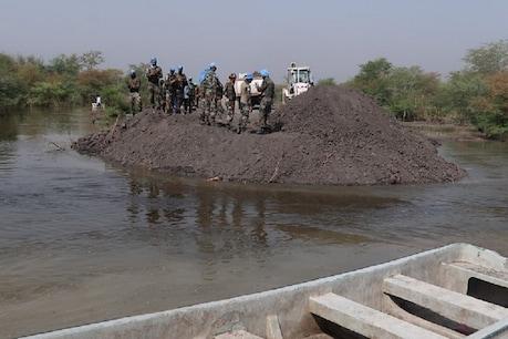 मिसाल! कोरोना से प्रभावित सूडान में अभी भी राहत कार्य में जुटी है भारतीय शांति सेना