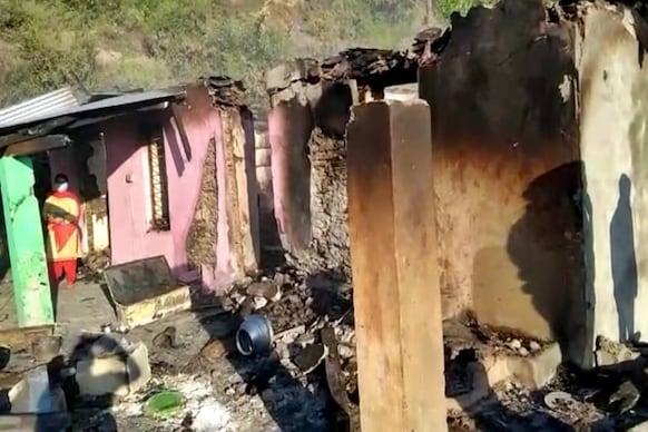 चंबा में रात ढाई बजे सिलेंडर फटने से दो मकानों मे लगी आग, नाबालिग लड़की झुलसी