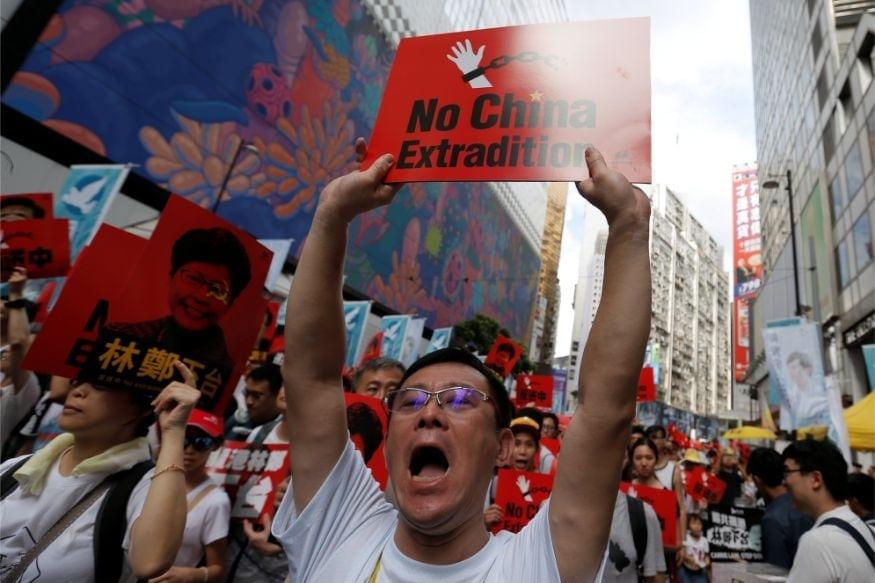 Hong Kong Leader, Hong Kong protest, Hong Kong new law, china in Hong Kong, Hong Kong in favour of chinese Security Law, Most Important Development For nation, हांगकांग, अमेरिका, चीन, चीन का नया सुरक्षा कानून, हांगकांग प्रदर्शन