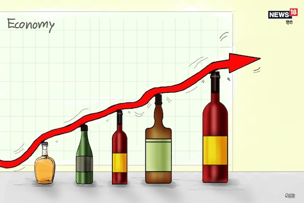 कार्टून कोना: अब इकोनॉमी को संभालेगी शराब