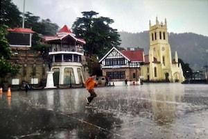 PHOTOS: पहाड़ों की रानी शिमला में झमाझम बारिश, गर्मी से मिली राहत