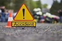 जबलपुरः कटंगी बाईपास पर बाइक को ट्रक ने रौंदा, 2 बच्चों और महिला की मौत, एक गं