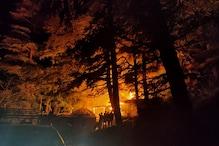 जाखू अग्निकांड: महिला ने खुद पर तेल छिड़कर लगाई थी आग, फिर जले कई आशियाने