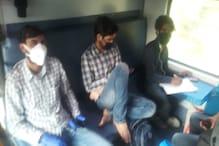 PHOTO : लॉक डाउन में चल पड़ी भारतीय रेल, देखिए अंदर क्या कर रहे हैं यात्री