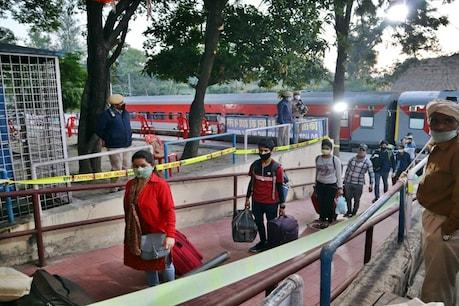 साढ़े 5 घंटे देरी से पुणे से 607 हिमाचलियों लेकर ऊना पहुंची श्रमिक ट्रेन, तालियों से हुआ स्वागत