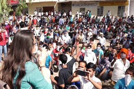 Bhilwara: लॉकडाउन में जब सड़कों पर उतर आए 2000 श्रमिक तो IAS टीना डाबी ने यूं संभाला मोर्चा