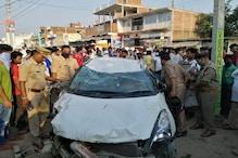 आजमगढ़ में रफ़्तार का कहर, बेकाबू कार ने राहगीरों को रौंदा, 2 की मौत